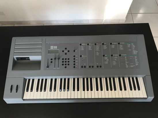 Picture of E-MU EMULATOR III Keyboard with SCSI2SD