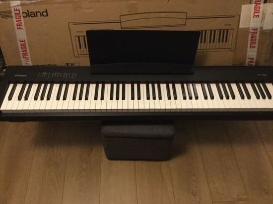 Free Music Tribe Roland Fp 30 Bk Digital Piano