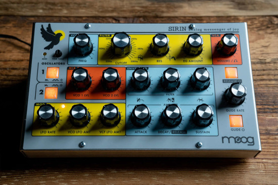 Picture of Moog Sirin w/ wood sides