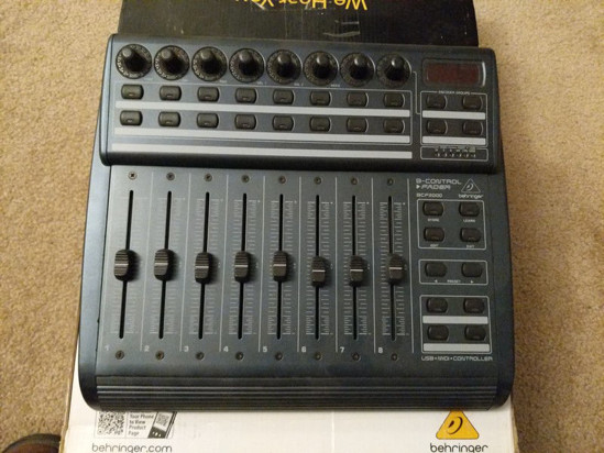 Picture of Behringer B-Control Fader BCF2000