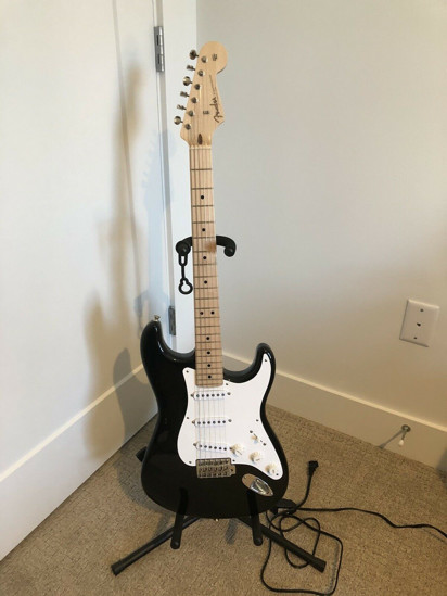 Picture of 2014 Fender Todd Krause Masterbuilt Eric Clapton Blackie Stratocaster