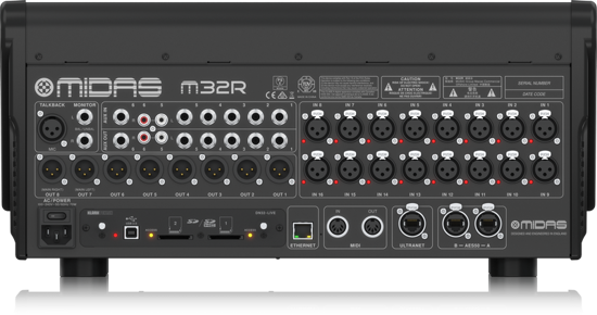 Picture of Midas M32R Live Digital Console for Live and Studio Application + Warranty