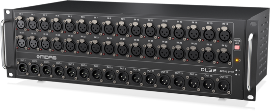 Picture of Midas DL32 32 Input, 16 Output Stage Box + Warranty