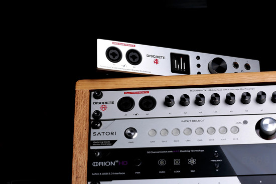 Picture of Antelope Audio Discrete 8 Thunderbolt and USB Audio Interface