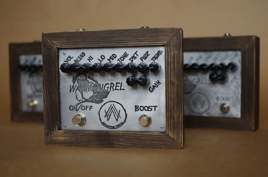 Picture of Parallel fuzz / distortion! Analogwise Pedals The Warmongrel