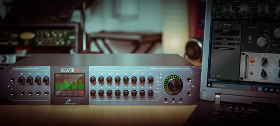 Picture of Antelope Audio Goliath HD Thunderbolt / USB 3.0 / HDX / MADI Audio Interface