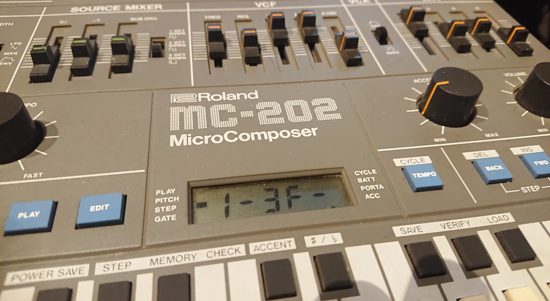 Picture of Roland MC-202 Micro Composer