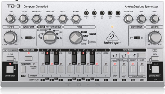 Picture of BEHRINGER TD-3-SR ANALOG BASSLINE SYNTH