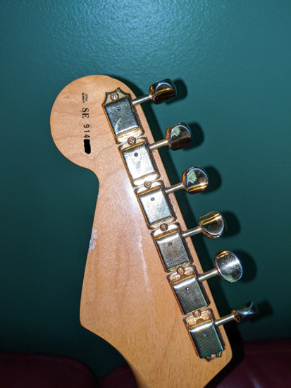 Picture of 1993 Fender USA SRV Stevie Ray Vaughan Signature Stratocaster