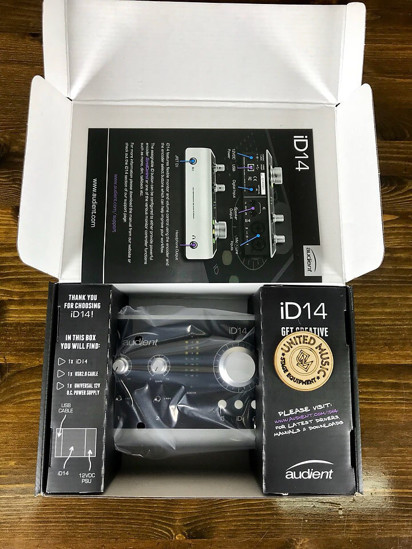 Picture of Audient iD14 brand new