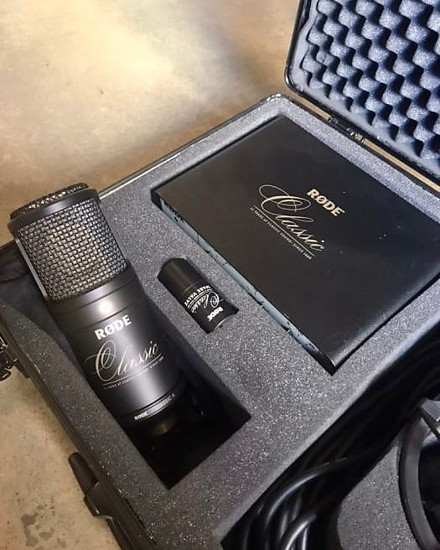 Picture of RODE Classic II Large Diaphragm Multipattern Tube Condenser Microphone