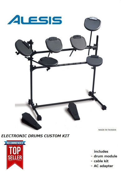 Picture of ALESIS custom electronic drums