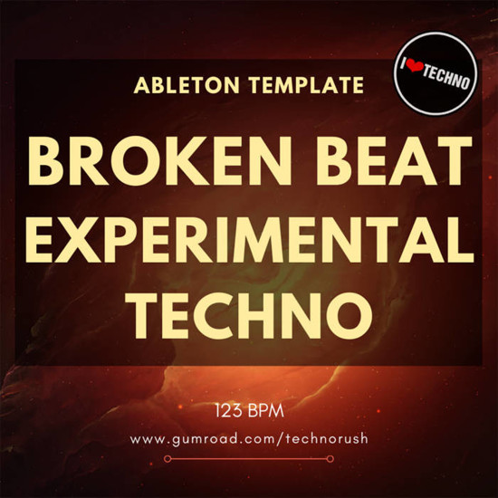Picture of Broken Beat Experimental Techno Ableton Template (Sample Pack Live)