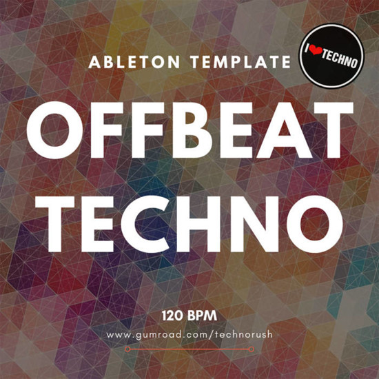 Picture of Offbeat Techno Ableton Live Template (Sample Pack LIVE)