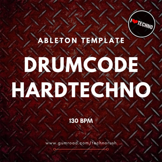 Picture of Drumcode HardTechno Ableton Live Template (Sample Pack LIVE)