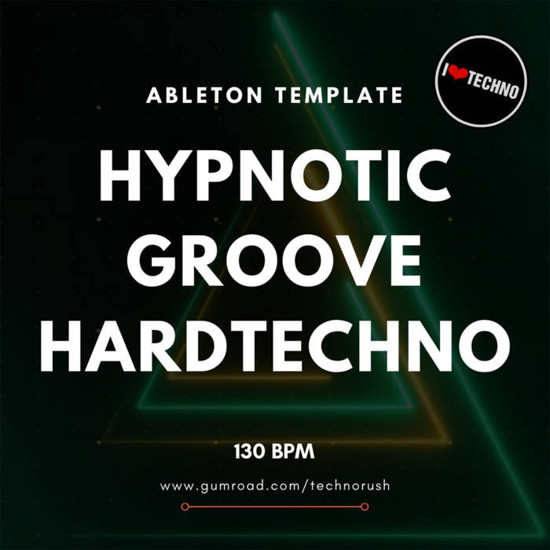 Picture of Hypnotic Groove HardTechno Ableton Live Template (Sample Pack LIVE)