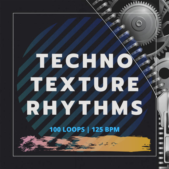 Picture of Techno Samples: Techno Texture Rhythms (Sample Pack WAV)