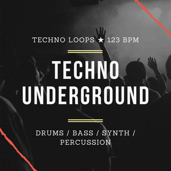 Picture of Techno Samples: Techno Underground (Sample Pack WAV)