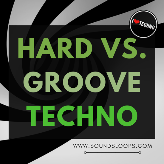 Picture of Hard VS. Groove Techno (Sample Pack WAV) by SoundsLoops​.​com