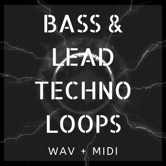 Picture of Bass & Lead Techno Loops (Sample Pack WAV/MIDI)
