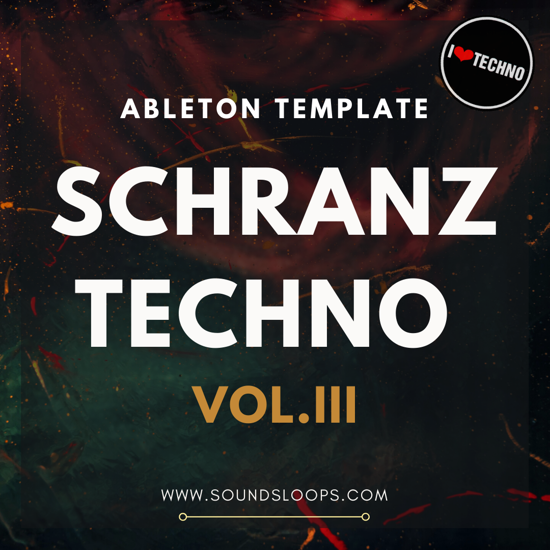 Picture of Schranz Techno Vol​.​3 Ableton Live Template (Sample Pack LIVE)