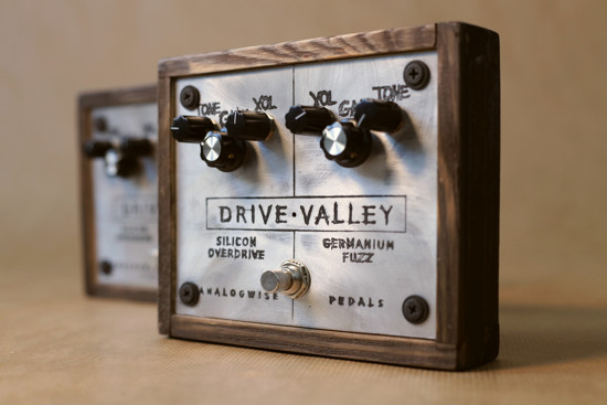 Picture of Just Drive by Analogwise Pedals - parallel fuzz and overdrive
