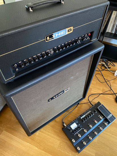 Picture of Line 6 Dream Rig: DT50 Head + 412 Cab + POD HD 500