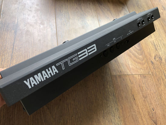 Picture of Yamaha TG33 AWM/FM Vector Synth sound expande