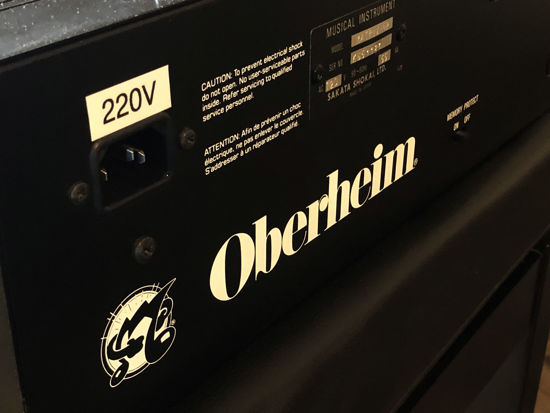 Picture of Oberheim Matrix-6R - Firmware v2.15 REAL-TIME MIDI control