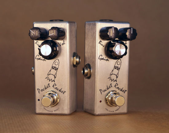 Picture of Germanium fuzz / overdrive / booster - Pocket Rocket by Analogwise Pedals