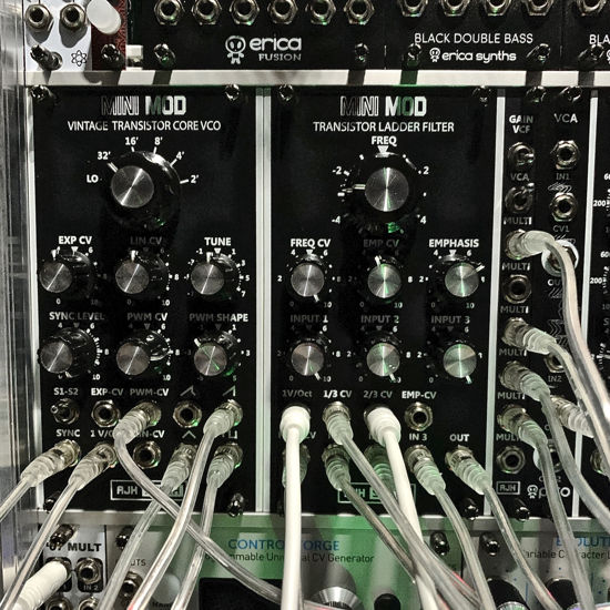 Picture of AJH Synth MiniMod Dark Edition | Set