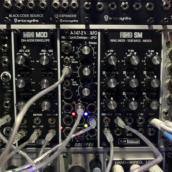 Picture of AJH Synth MiniMod Dark Edition   Set