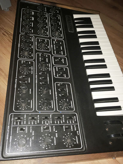 Picture of Vintage Sequential Circuits Pro One serviced