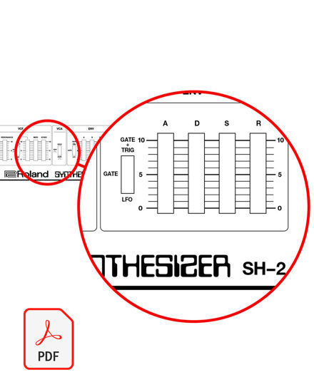 Picture of Roland SH-2 Patch Sheet (PDF download)