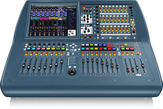 Picture of Midas PRO2C-CC-TP Tour Pack with DL251 48-input / 16-output Stage Box